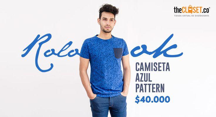 Camisetas que no puedes dejar de amar, estilo y exclusividad pura del gallo Rolo-ok Camisetas Descúbrela en #TheClosetco #RedDeDiseñadores #DiseñoIndependiente
