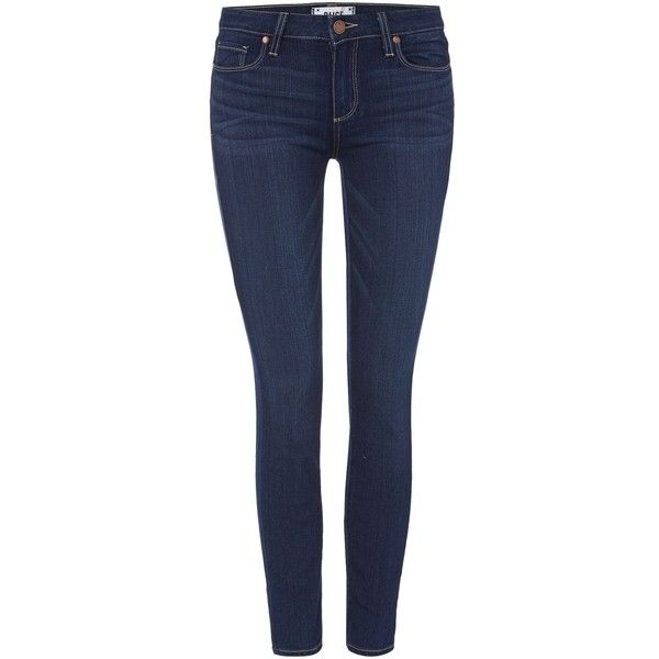 Paige Verdugo ankle skinny in dalia (370 AUD) ❤ liked on Polyvore featuring jeans, denim dark wash, women, paige denim, paige denim skinny jeans, dark wash skinny jeans, skinny ankle jeans and blue jeans