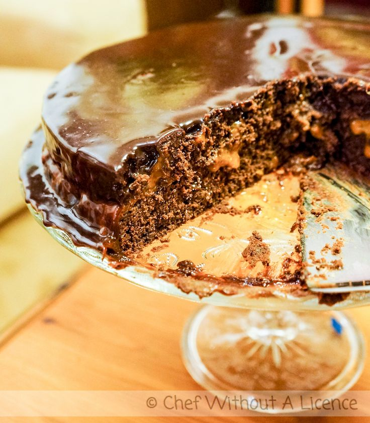 #Chocolate #Cake with Seabuckthorn #Recipe
