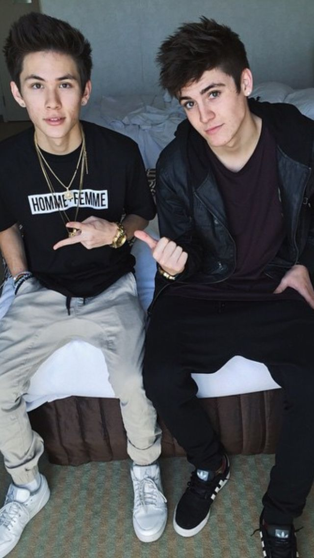 Carter Reynolds and Sammy Wilk