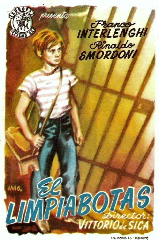 """El limpiabotas (1946) """"Sciuscià"""" de Vittorio De Sica - tt0038913"""