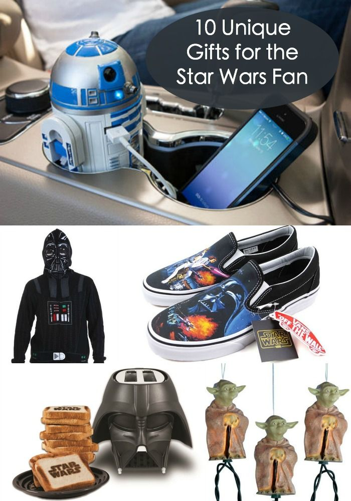 Any Star Wars fans out there? Here are some great gift ideas - lots of unique options for the Star Wars fan in your life.