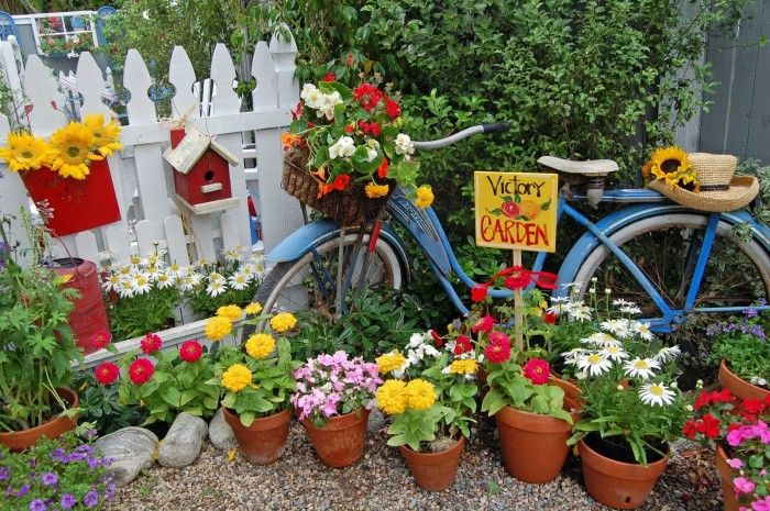 Garden Decorating Ideas Creating Attractive Spot With Ecofriendly Idea
