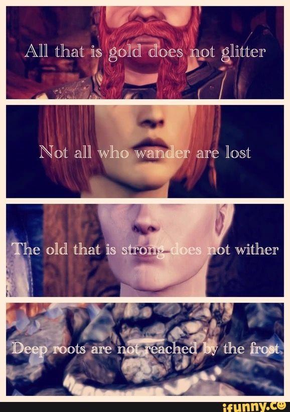 Tolkien + DA