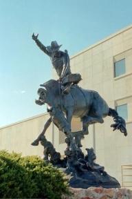 Bob Scriver sculpture - Helena, Montana