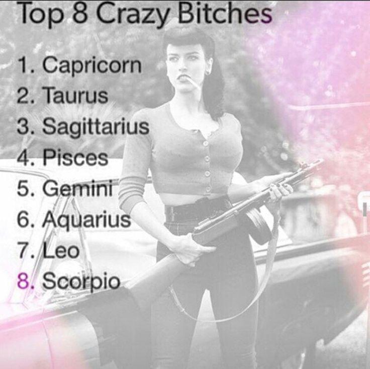 Taurus!! Best believe it! Don't mess wit a crazy bitch!
