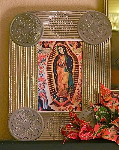 1000 images about the beautiful lady our lady of for Our lady of guadalupe arts and crafts