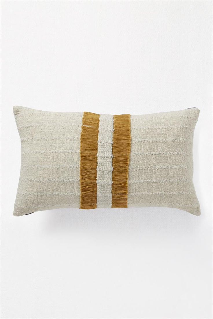 In a tale of the unexpected, this cotton rectangular cushion layers texture, an earthy palette and playful fringing. With statement appeal, it's a piece that's both easy to style and an exhibitionist. <br /><br />    100% COTTON<br />  30cm x 50cm<br />  Handwash Only<br /><br />