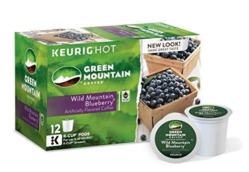 Green Mountain Coffee Wild Mountain Blueberry Keurig K-Cups 72 Count