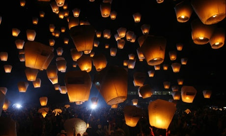 Flying sky lanterns - biodegradable- no wire! 6.99. Ea
