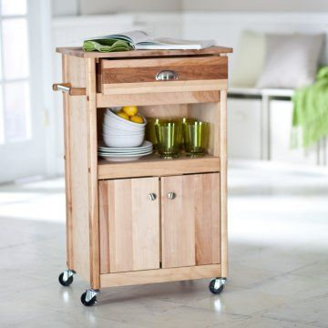 microwave stands with storage | The Brennan Microwave Cart - Microwave Carts at Hayneedle
