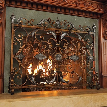 30 best Kamingitter Fireplace screens images on