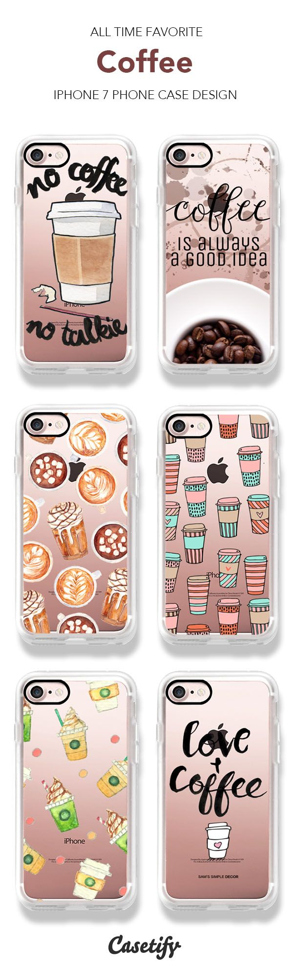 All Time Favorite Coffee iPhone 7 and iPhone 7 Plus case. Shop them all here >   https://www.casetify.com/artworks/RHDACm7wdj