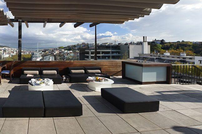 Terrace - Hotel Tivoli Lisboa
