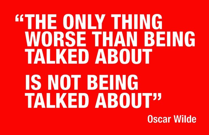 Oscar Wilde #boom