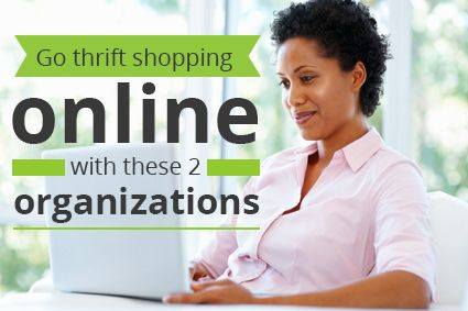 A New Way to Save by Shopping Online at Goodwill and Salvation Army
