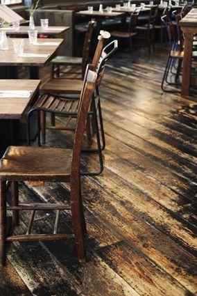 Lovely reclaimed timber floor - Paesan London  #B3Designers