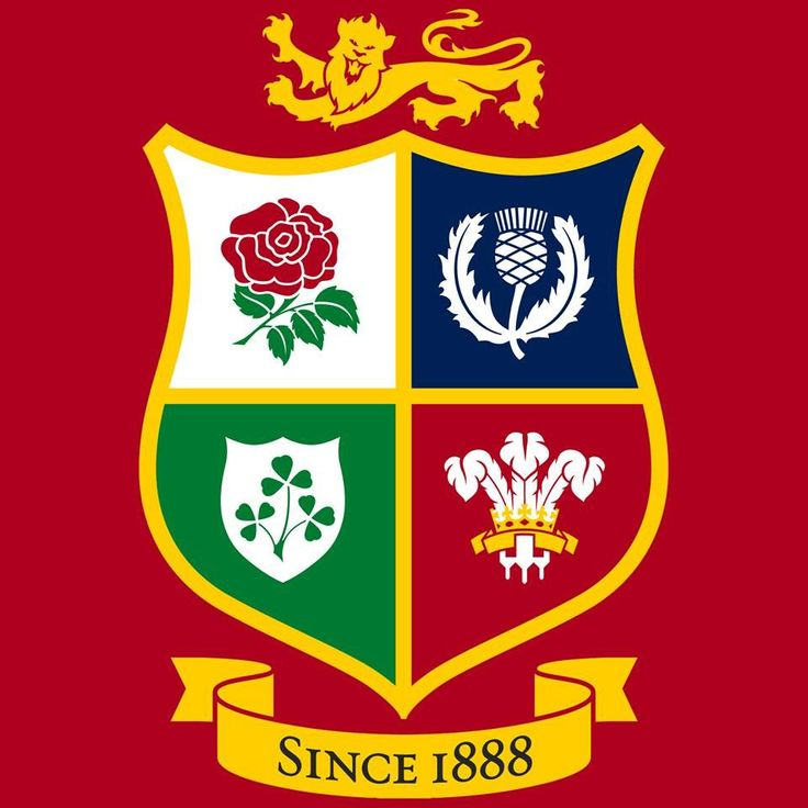 New British Lions rugby logo
