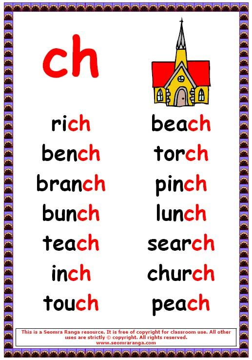 Ch Words 1