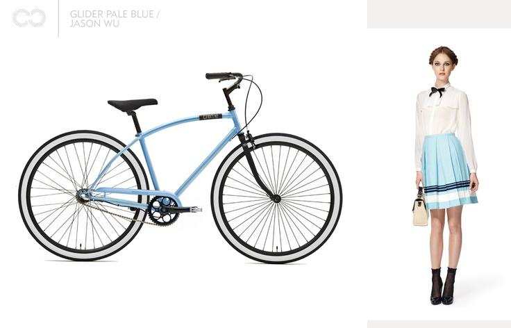 Glider pale blue / Jason Wu