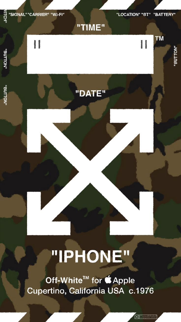 Ver1off White Wallpaper Allows Camouflage Click