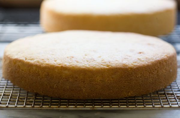 How to bake a cake that stays flat on the top
