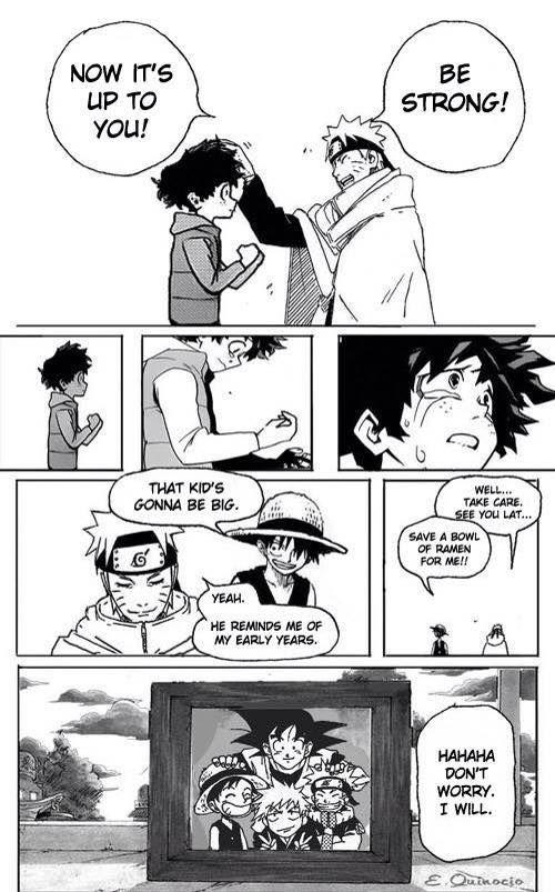 Awwwwww!Manga- My Hero Academia, Naruto, One Piece, Bleach, and DBZ