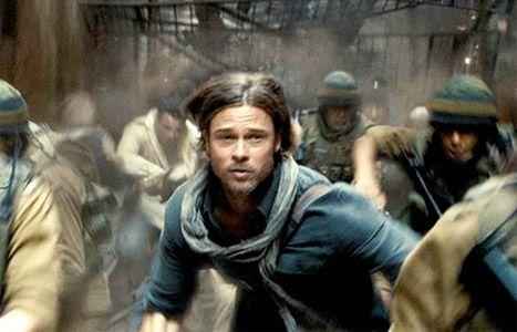 Brad Pitt Battles Zombies in World War Z Movie Trailer