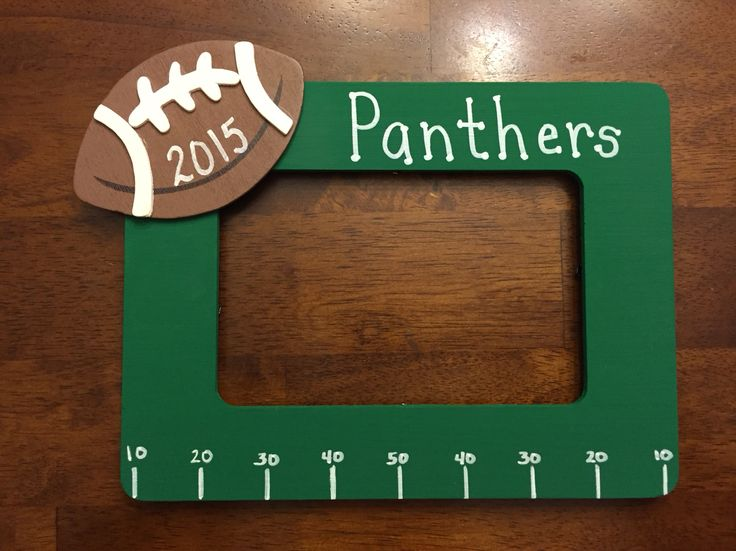Football team picture frame