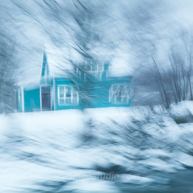 #winter #snow #mood #light #blue #norway #sirdal #bokeh #blur #impression