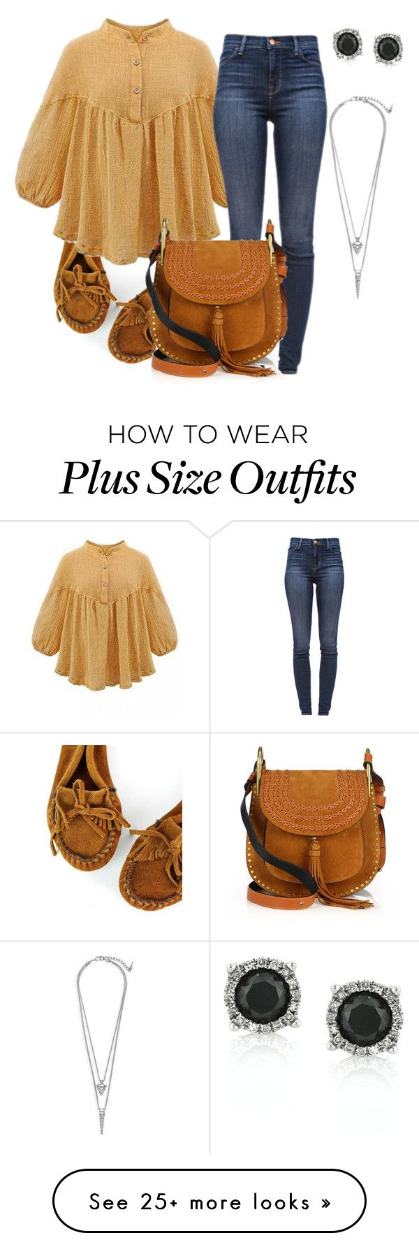 """Sem título #521"" by dolcevita12 on Polyvore featuring Minnetonka, J Brand, Chloé, Mark Broumand, Chloe + Isabel, women's clothing, women's fashion, women, female and woman"
