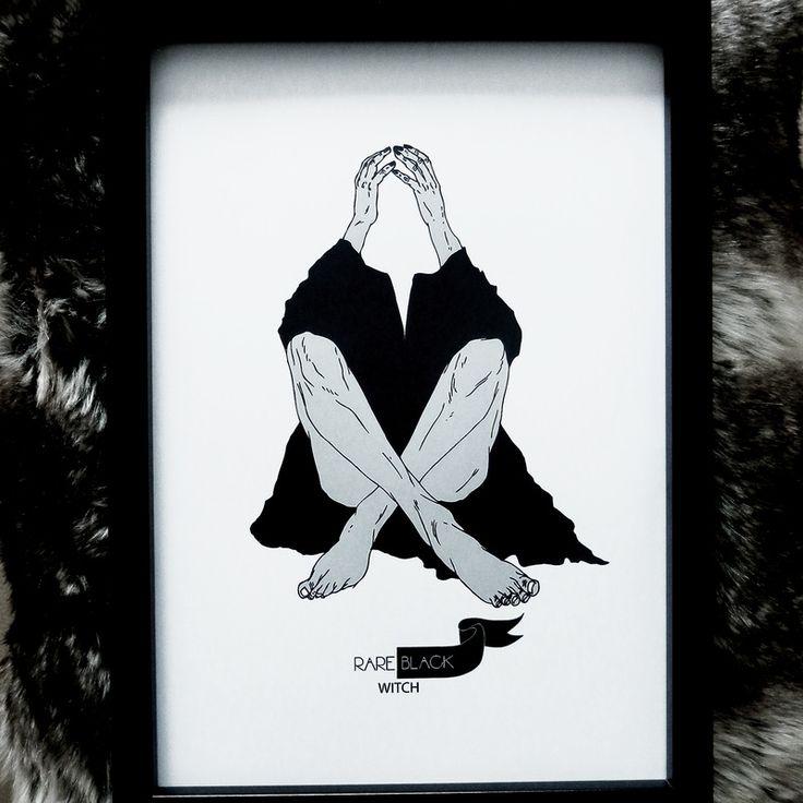 ink sketch X print