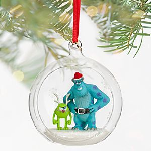 Mike and Sulley Sketchbook Ornament