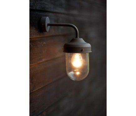 Barn Lamp Wall Light - Coffee Bean