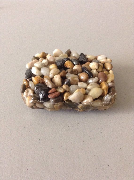 handmade pebble rock soap dish 3x4 by splashbathandbodybar on etsy good to know pinterest. Black Bedroom Furniture Sets. Home Design Ideas