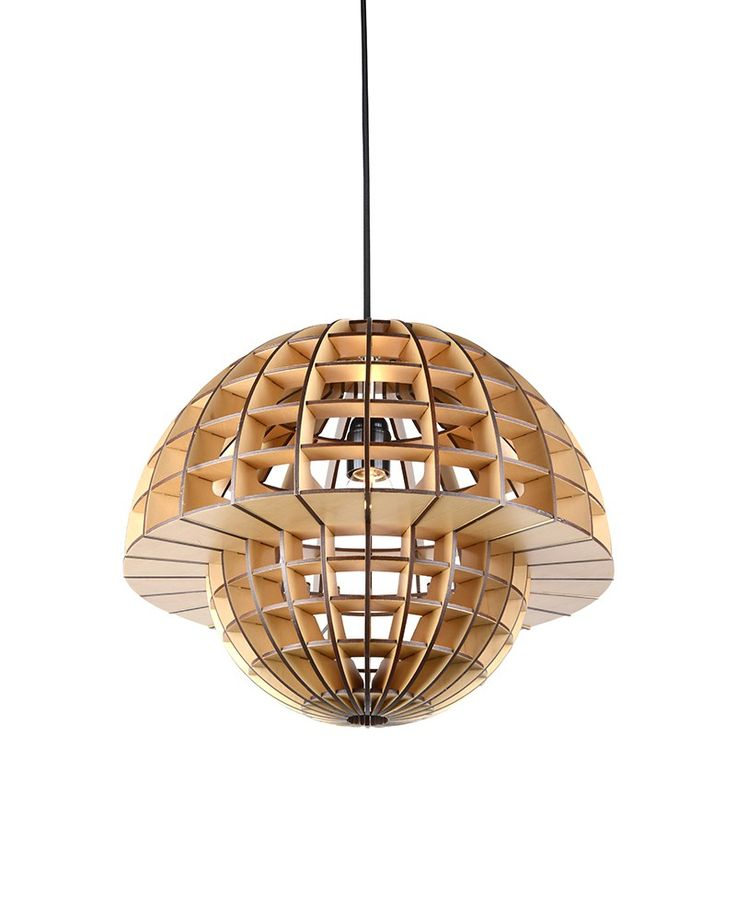 Plywood Mushroom Shade Pendant Ceiling Lights                                                                                                                                                      More