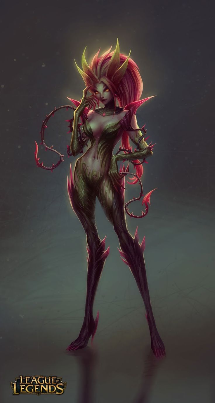Zyra - Game: League of Legends