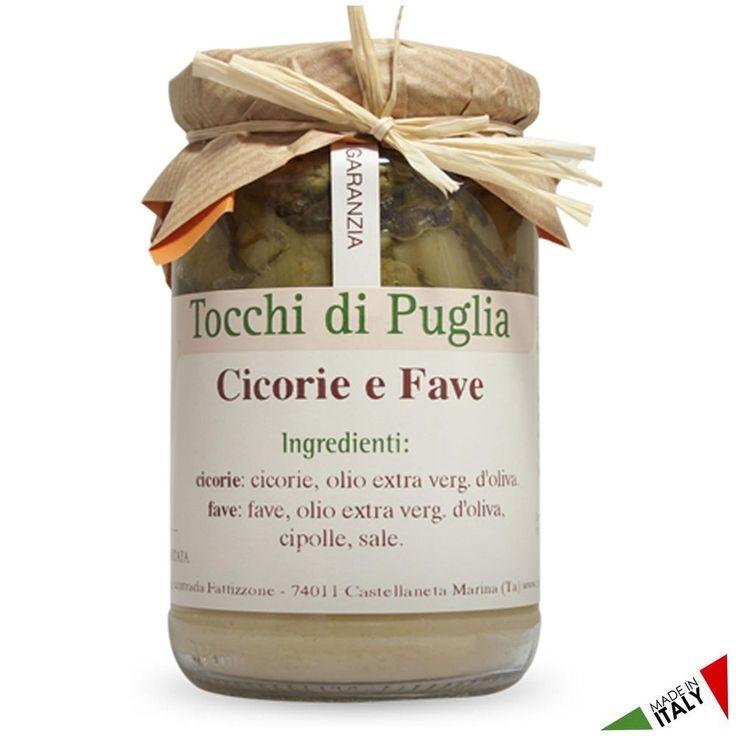 CICORIE E FAVE GR 310 TOCCHI DI PUGLIA BUONITALY  (070914)
