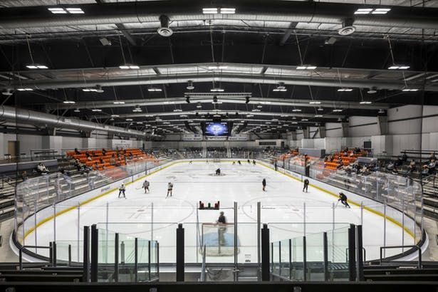 Great Park Ice Fivepoint Arena Lpa Inc Archinect In 2020 Arena Park Ice Sports