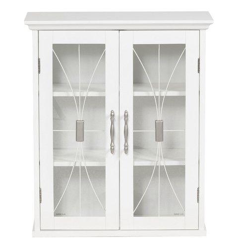 elegant home fashions mason surface mount medicine cabinet