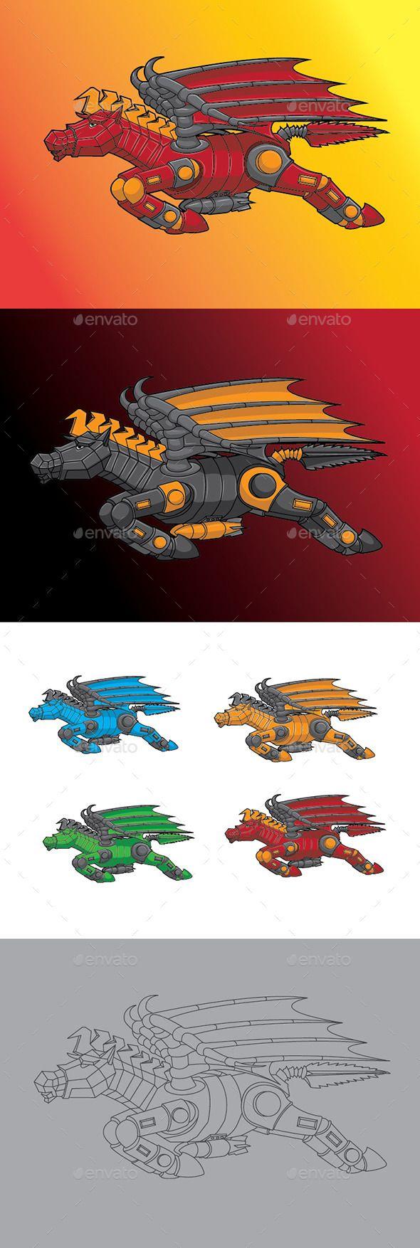 Pegasus Robo Character