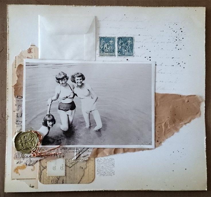 Vintage dames Collage door YourJuliet op Etsy https://www.etsy.com/nl/listing/286449515/vintage-dames-collage