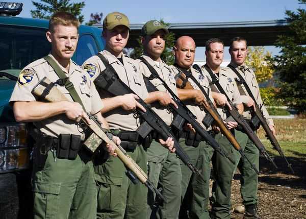 California fish and game wardens in the spotlight on 39 wild for Ca game and fish