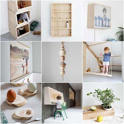 Die besten 25+ Holzschaukel Ideen auf Pinterest Holzschaukel - wohnung dekorieren selber machen