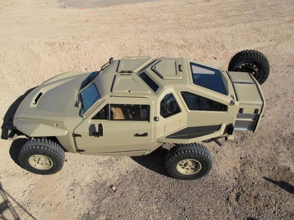 DARPA XC2V crowd-sourced combat vehicle is complete and ...