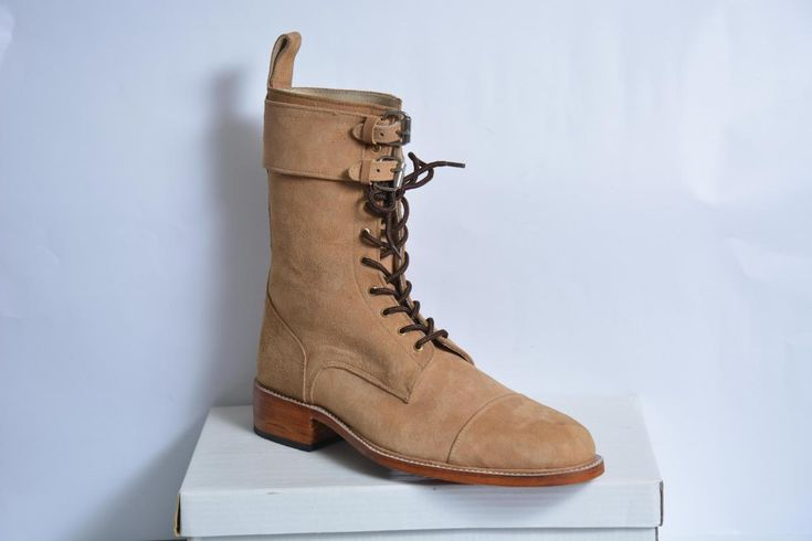 Handmade mens Suede boots, Men ankle boots, Men