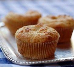 Muffin de farinha de amêndoa sem glúten