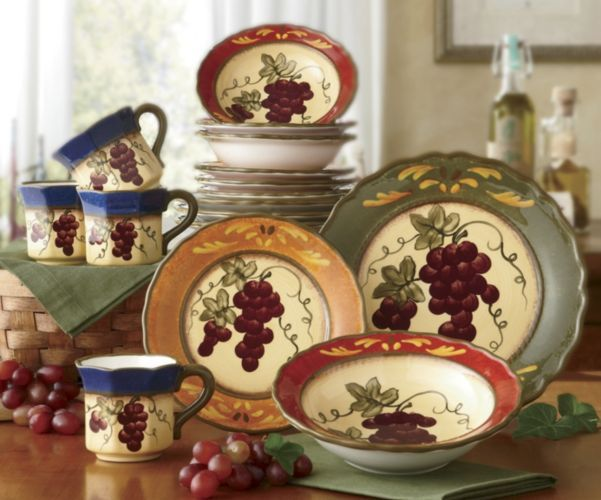 16 Piece Marciana Grape Dinnerware From Ginny S 174 I M