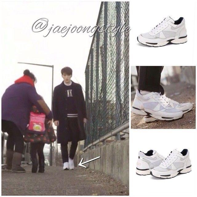 JJ as Seonu wore the very popular @SuecommaBonnie Skye 105 (white) sneakers for the #KoreanDrama #SPY. Price: $278.00. Credit: KBS and wannabk.com.  #KimJaejoong #Jaejoong #김재중 #스파이 #Korean #actor #singer #celebrity #mensfashion #sneakers