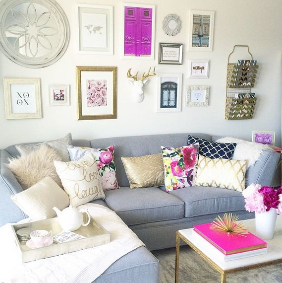 Olive + Piper Office/Home Space | oliveandpiper.com